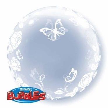 Balão Deco Bubble Borboletas