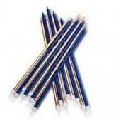 Velas Azul Navy e Douradas