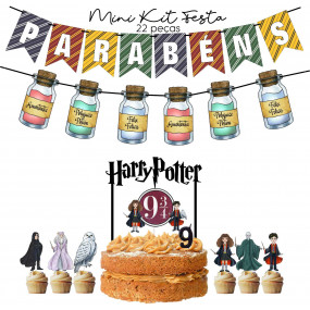 Mini Kit Festa Harry Potter