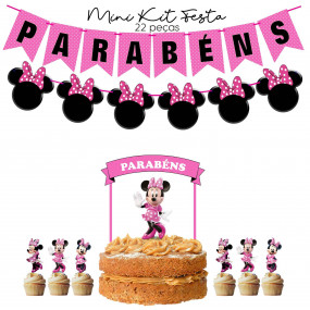 Mini Kit Festa Minnie Rosa