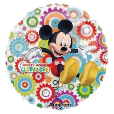 Balão Foil See-Thru Transparente Mickey Mouse
