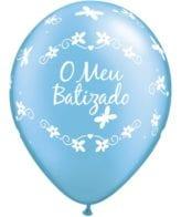 25 baloes 11 impressos batizado