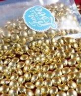 0025459 bolinhas ouro vintage 100gr 550