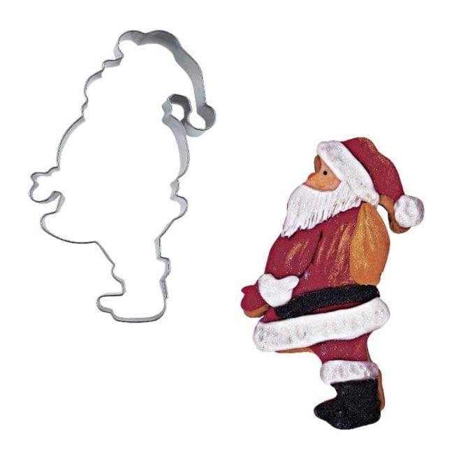 santa claus profile cutter
