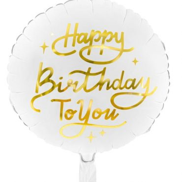 Balon foliowy happy birthday to you 35cm e1614887075560